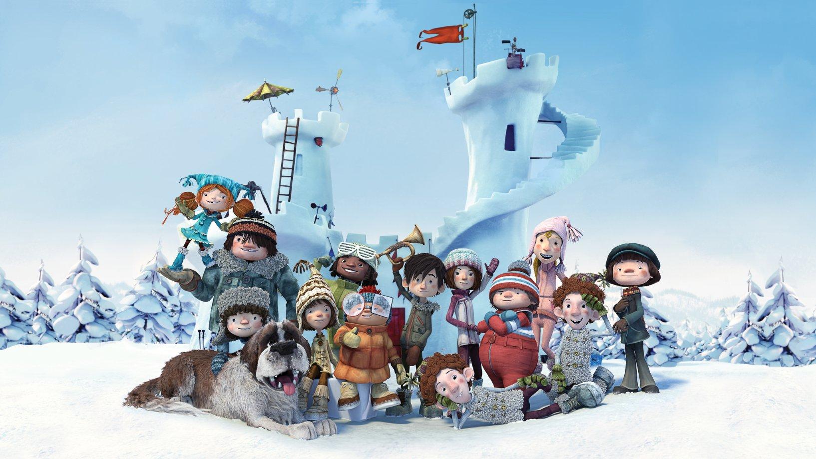 دانلود دوبله فارسی انیمیشن روز برفی Snowtime! 2015 با لینک مستقیم