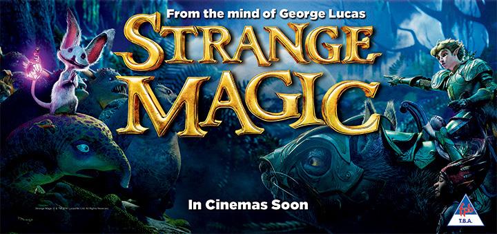 دانلود دوبله فارسی انیمیشن Strange Magic با سانسور