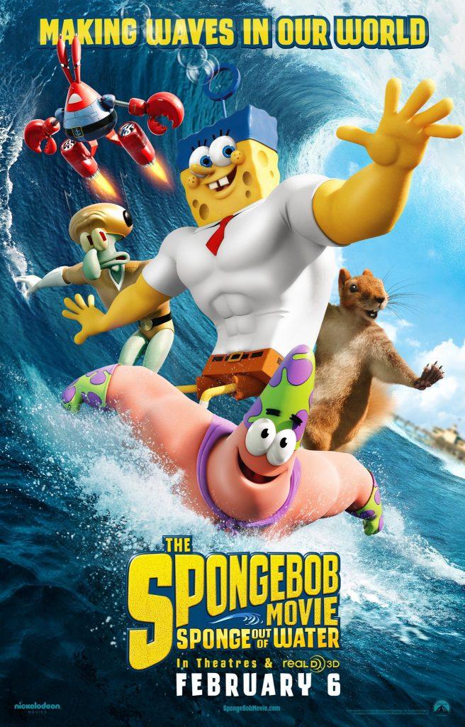 دانلود دوبله فارسی انیمیشن The SpongeBob Movie: Sponge Out of Water 2015