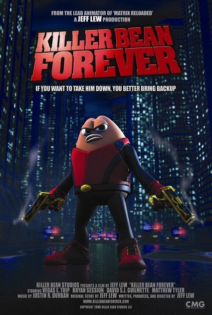 دانلود دوبله فارسی انیمیشن لوبیای ششلول بند Killer Bean Forever 2009 با لینک مستقیم