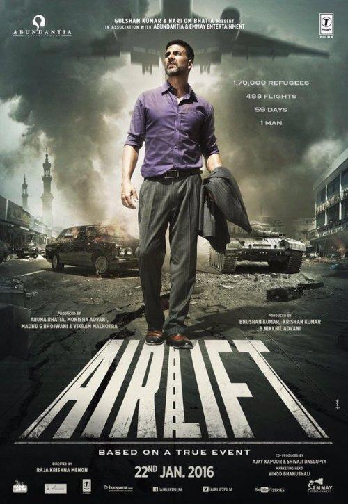 دانلود دوبله فارسی فیلم هوابرد 2016 Airlift با لینک مستقیم